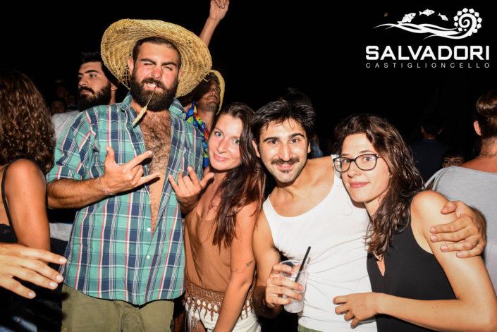 carneval Beach bagni Salvadori castiglioncello